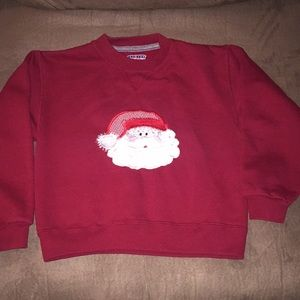 Jerzees Santa Sweatshirt